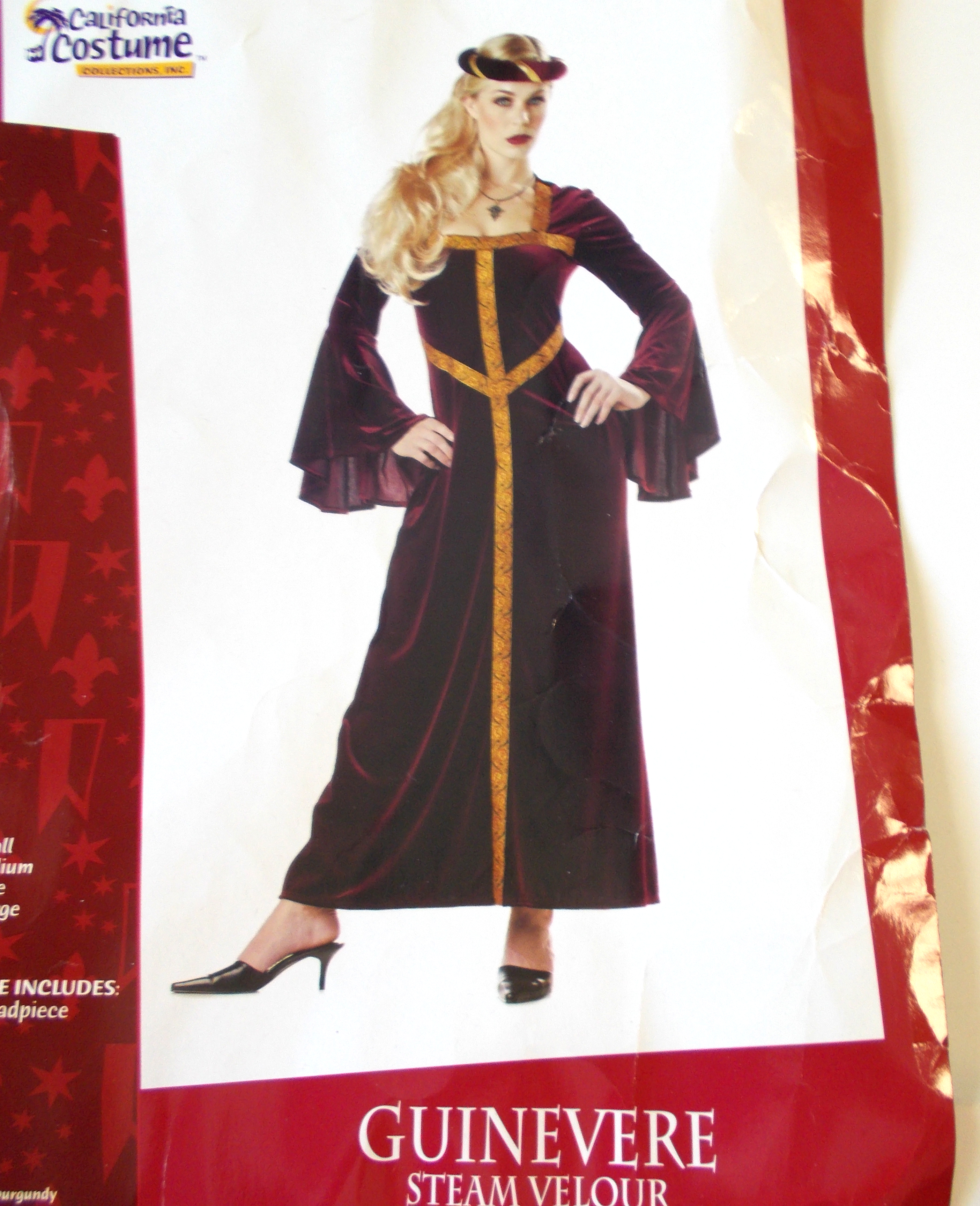 Guinevere Costumes Adults Guinevere-adult-burgundy