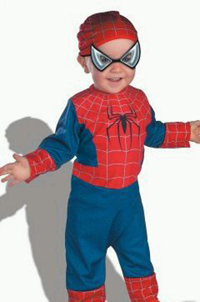 Spiderman Baby Infant Costume Dress Nwt